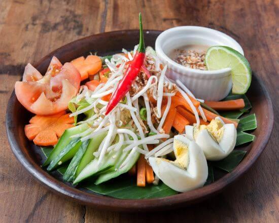 gado gado salade indonesienne